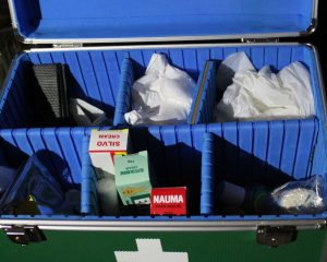 First Aid kits for the School